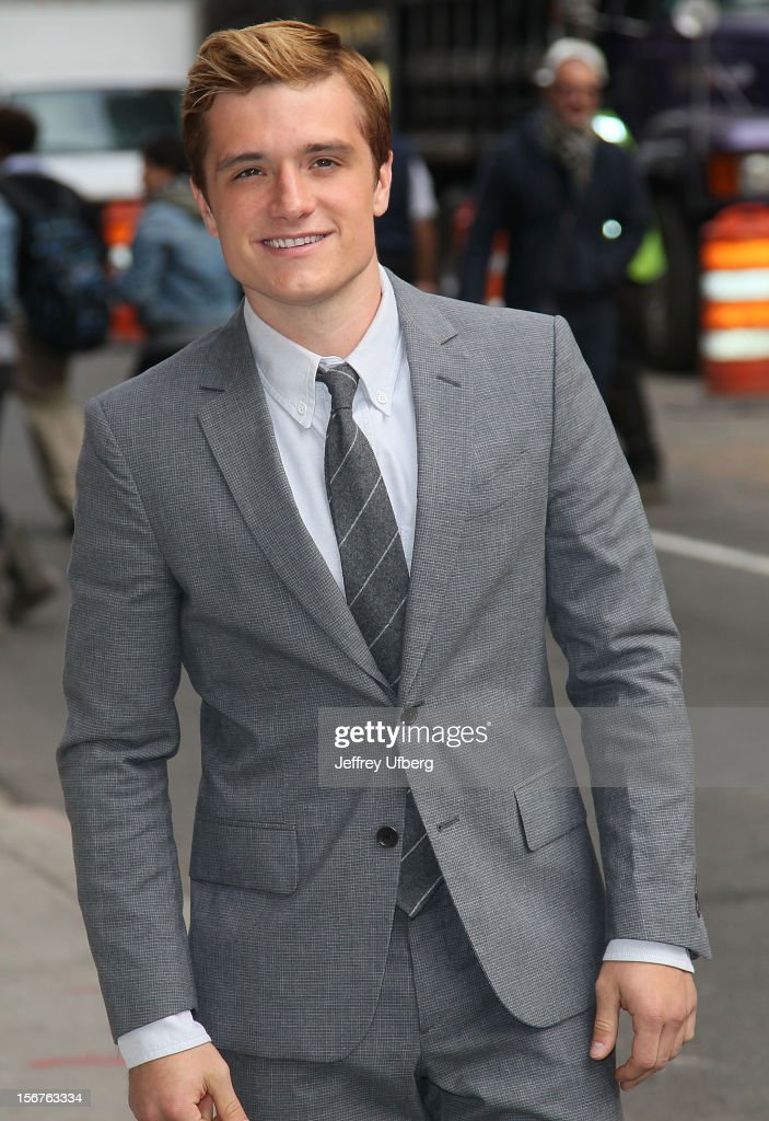 Actor Josh Hutcherson arrives to 'Late Show with David Letterman' at Ed Sullivan Theater on November 20, 2012 in New York City.