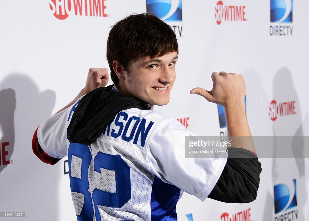 Actor Josh Hutcherson attends DIRECTV'S Seventh Annual Celebrity Beach Bowl at DTV SuperFan Stadium at Mardi Gras World on February 2, 2013 in New Orleans, Louisiana.