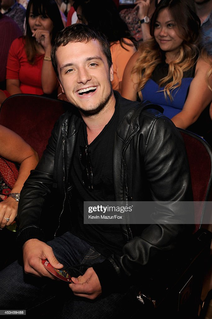 Actor Josh Hutcherson attends FOX's 2014 Teen Choice Awards at The Shrine Auditorium on August 10 2014 in Los Angeles California