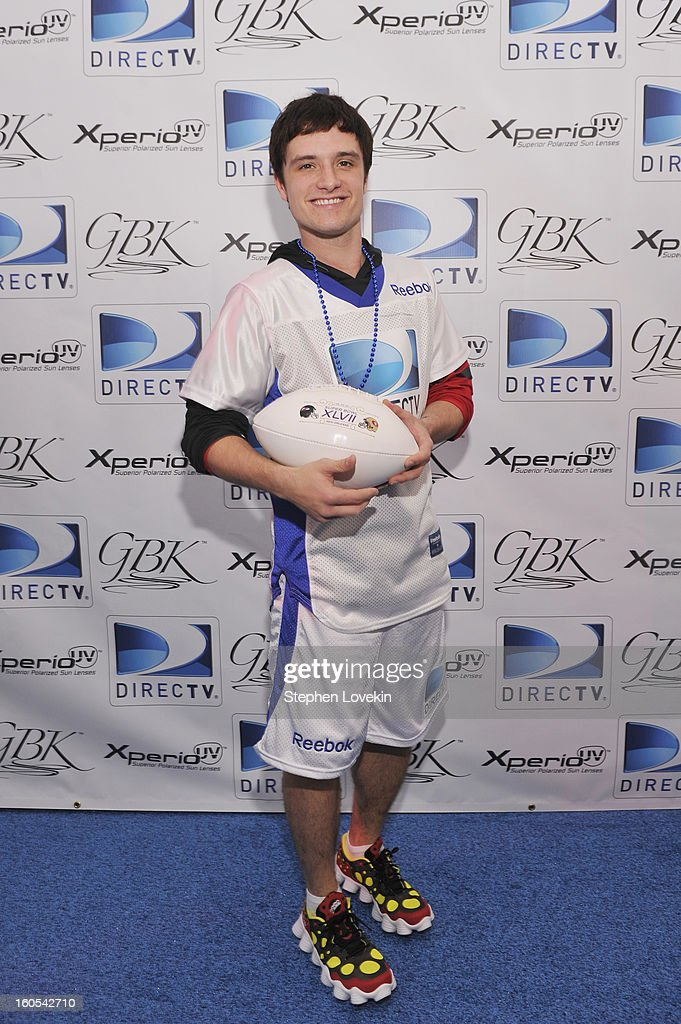 Actor Josh Hutcherson attends GBK and DirecTV Celebrity Beach Bowl Thank You Lounge at DTV SuperFan Stadium at Mardi Gras World on February 2, 2013 in New Orleans, Louisiana.