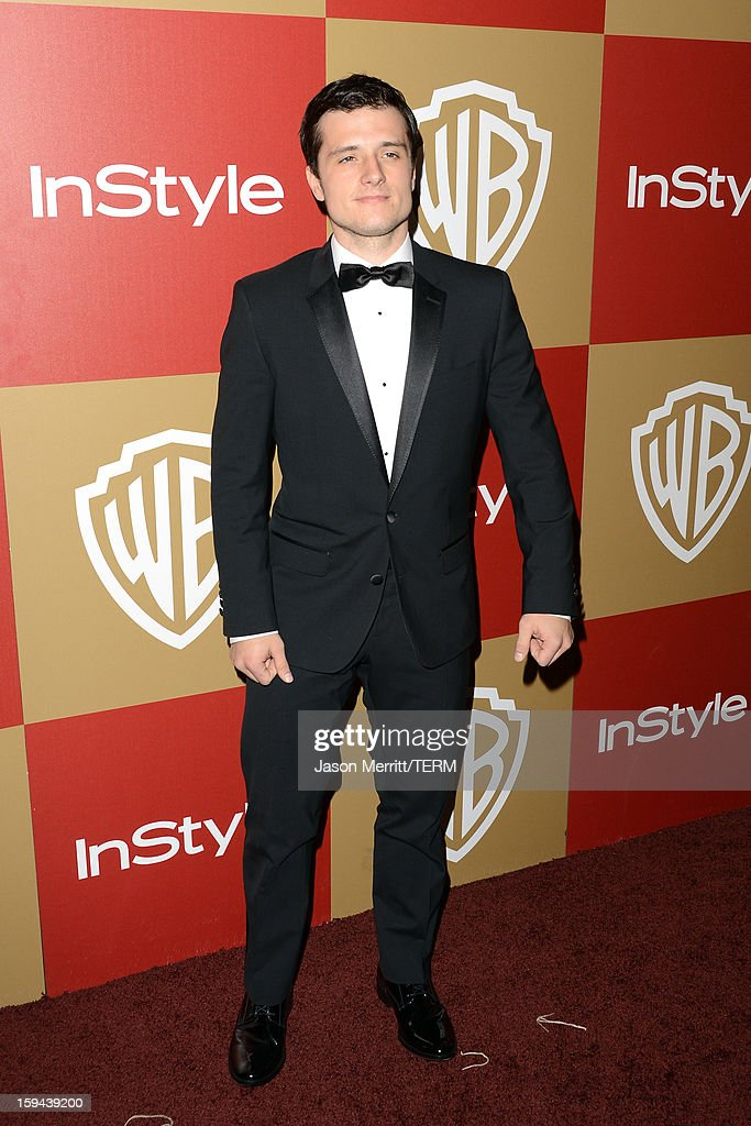 Actor Josh Hutcherson attends the 14th Annual Warner Bros. And InStyle Golden Globe Awards After Party held at the Oasis Courtyard at the Beverly Hilton Hotel on January 13, 2013 in Beverly Hills, California.