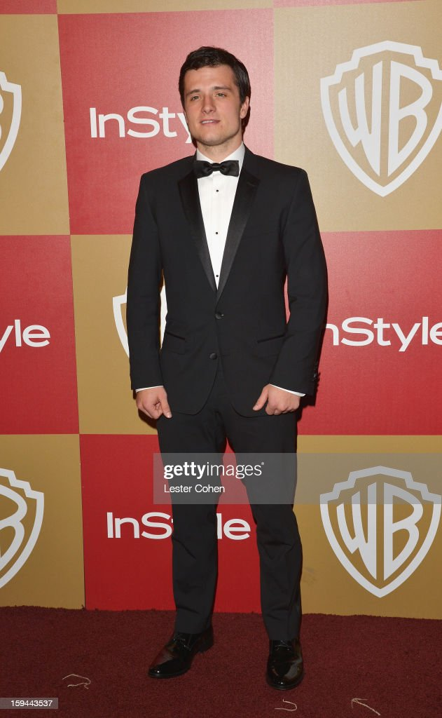 Actor Josh Hutcherson attends the 2013 InStyle and Warner Bros. 70th Annual Golden Globe Awards Post-Party held at the Oasis Courtyard in The Beverly Hilton Hotel on January 13, 2013 in Beverly Hills, California.