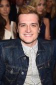 Actor Josh Hutcherson attends the 2014 MTV Movie Awards at Nokia Theatre LA Live on April 13 2014 in Los Angeles California