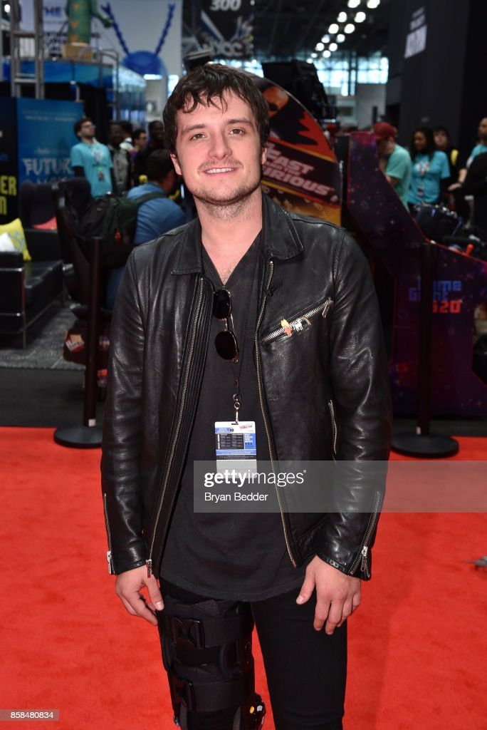 Actor Josh Hutcherson attends the FANDOM Fest during New York Comic Con on October 6, 2017 in New York City.