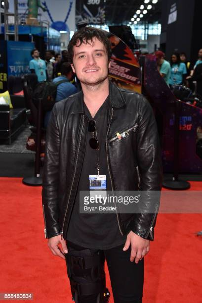 Actor Josh Hutcherson attends the FANDOM Fest during New York Comic Con on October 6 2017 in New York City