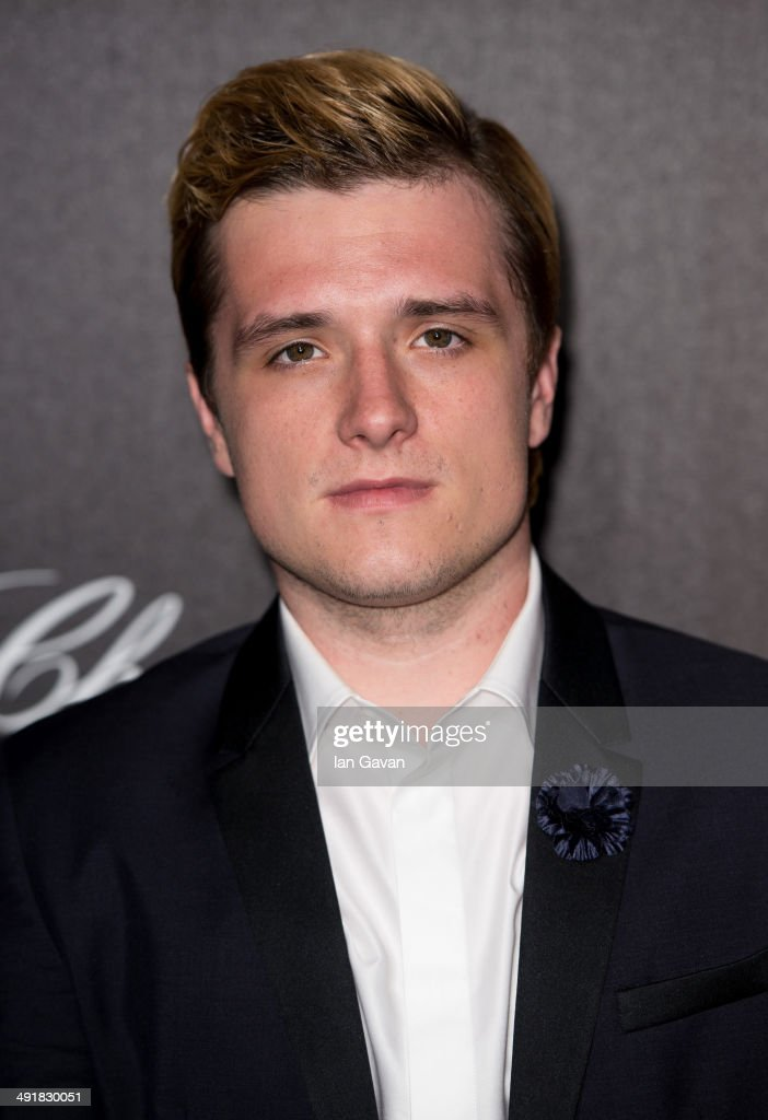 Actor <a gi-track='captionPersonalityLinkClicked' href=/galleries/search?phrase=Josh+Hutcherson&family=editorial&specificpeople=673588 ng-click='$event.stopPropagation()'>Josh Hutcherson</a> attends 'The Hunger Games: Mockingjay Part 1' party at the 67th Annual Cannes Film Festival on May 17, 2014 in Cannes, France.
