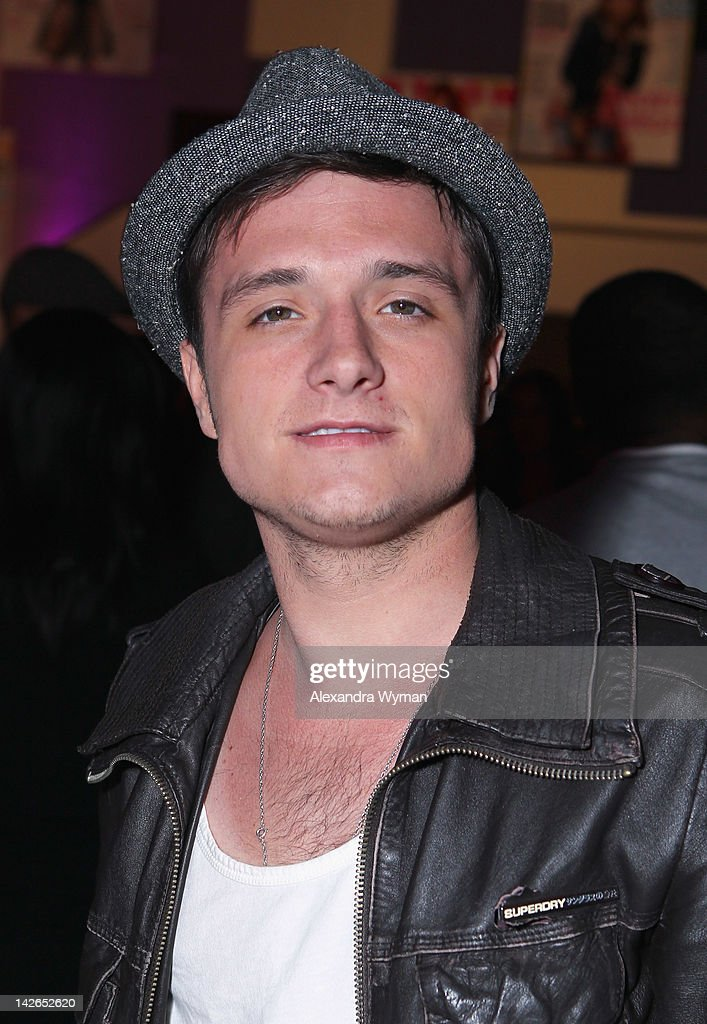 Actor <a gi-track='captionPersonalityLinkClicked' href=/galleries/search?phrase=Josh+Hutcherson&family=editorial&specificpeople=673588 ng-click='$event.stopPropagation()'>Josh Hutcherson</a> attends the NYLON Magazine 13th Anniversary Celebration Presented by Beadhead by Tigi at Smashbox West Hollywood on April 10, 2012 in West Hollywood, California.