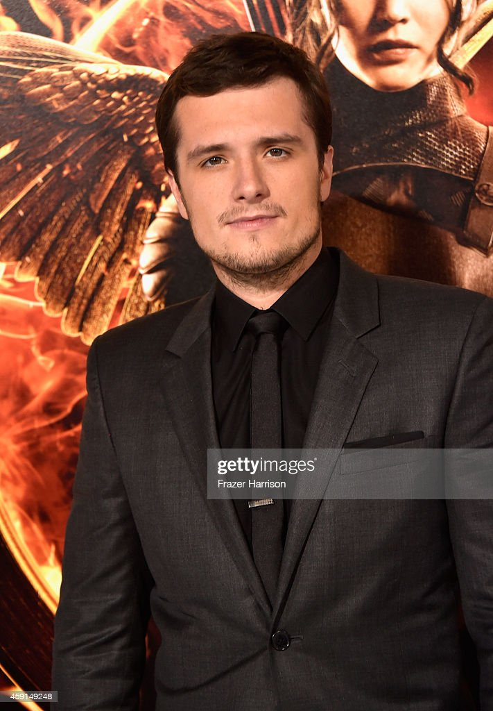 Actor <a gi-track='captionPersonalityLinkClicked' href=/galleries/search?phrase=Josh+Hutcherson&family=editorial&specificpeople=673588 ng-click='$event.stopPropagation()'>Josh Hutcherson</a> attends the premiere of Lionsgate's 'The Hunger Games: Mockingjay - Part 1' at Nokia Theatre L.A. Live on November 17, 2014 in Los Angeles, California.