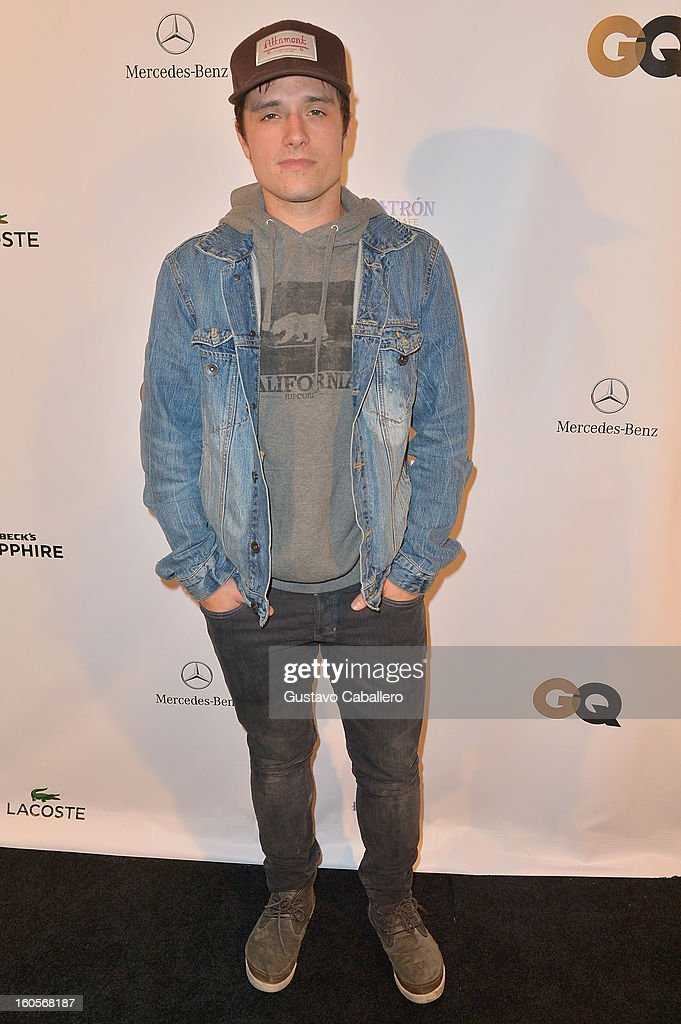 Actor Josh Hutcherson attends the Super Bowl party sponsored by Lacoste and Mercedes-Benz at The Elms Mansion on February 2, 2013 in New Orleans, Louisiana.