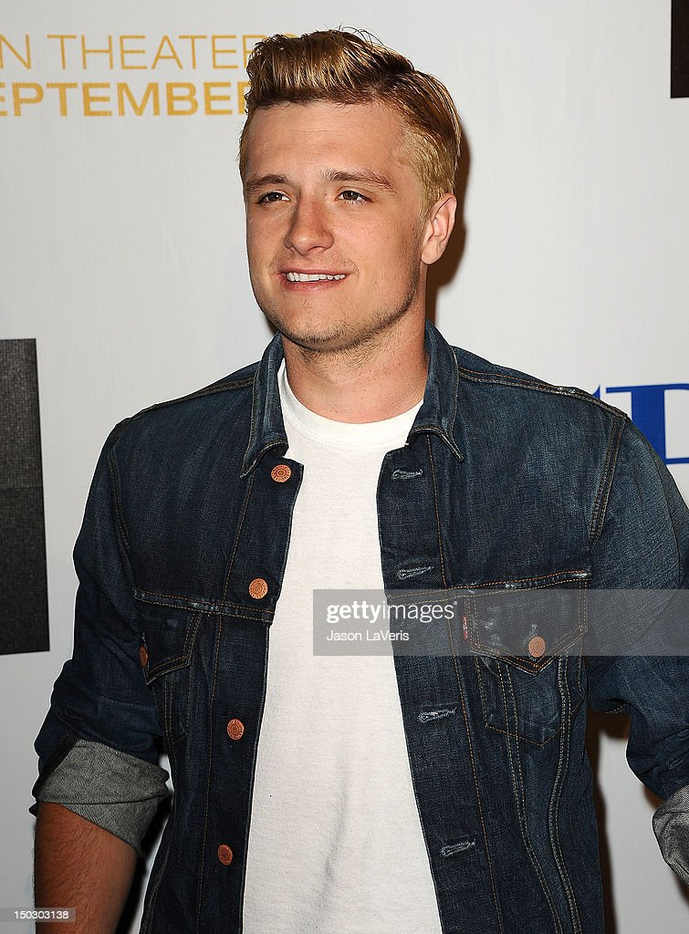 Actor Josh Hutcherson attends the 'Teachers Rock' benefit at Nokia Theatre L.A. Live on August 14, 2012 in Los Angeles, California.