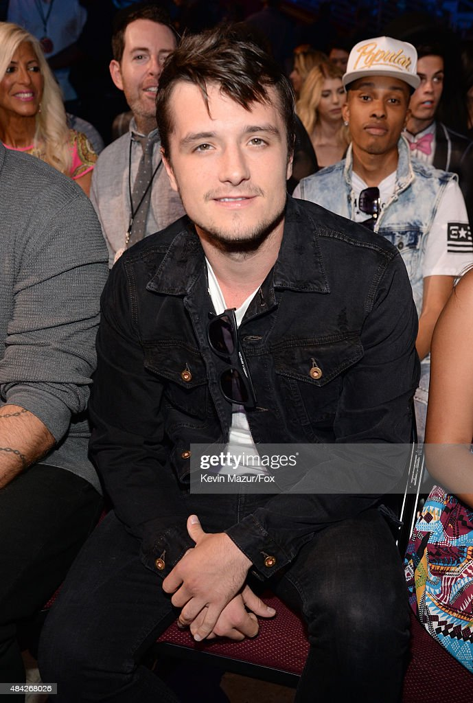 Actor Josh Hutcherson attends the Teen Choice Awards 2015 at the USC Galen Center on August 16 2015 in Los Angeles California