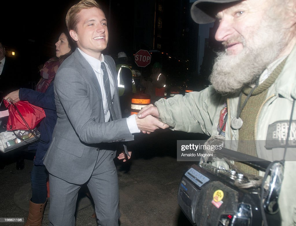 Actor Josh Hutcherson sighting on November 21, 2012 in New York City.