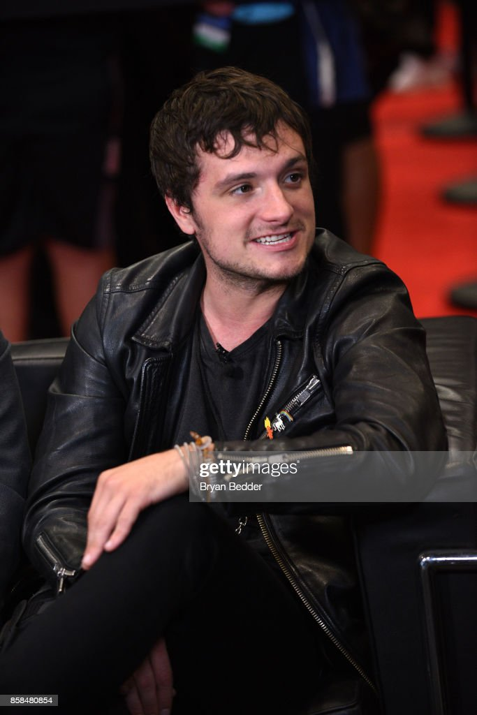 Actor Josh Hutcherson speaks at the FANDOM Fest during New York Comic Con on October 6, 2017 in New York City.