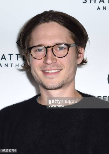 Actor Josh Kaye attends the Premiere Of Starlight Studios And Refinery29's 'Come Swim' at The Landmark on November 9 2017 in Los Angeles California