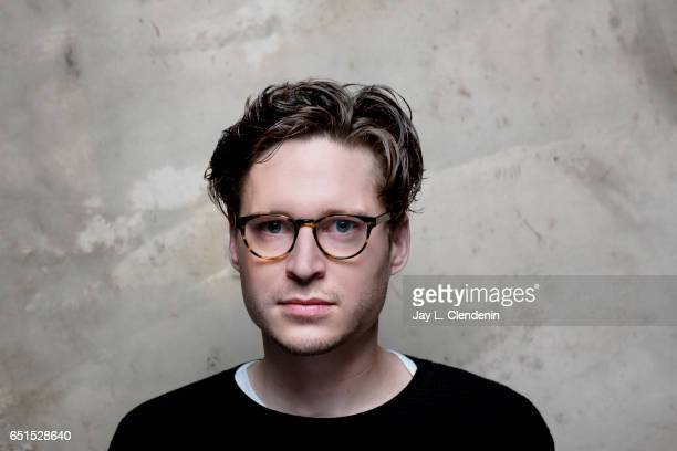 Actor Josh Kaye from the film 'Come Swim' is photographed at the 2017 Sundance Film Festival for Los Angeles Times on January 20 2017 in Park City...