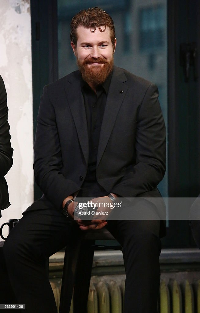 Actor Josh Kelly attends AOL Build Presents: The Cast Of 'UnREAL' at AOL Studios In New York on May 24, 2016 in New York City.