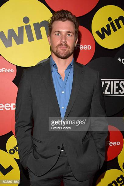 Actor Josh Kelly attends The Buzzies BuzzFeed's PreEmmy party produced by PenPublic at HYDE Sunset Kitchen Cocktails on September 14 2016 in West...