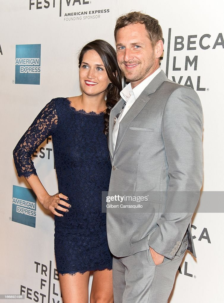 Actor Josh Lucas (R) and Jessica Lucas attend the 'Mistaken for Strangers premiere during the opening night of the 2013 Tribeca Film Festival at BMCC Tribeca PAC on April 17, 2013 in New York City.