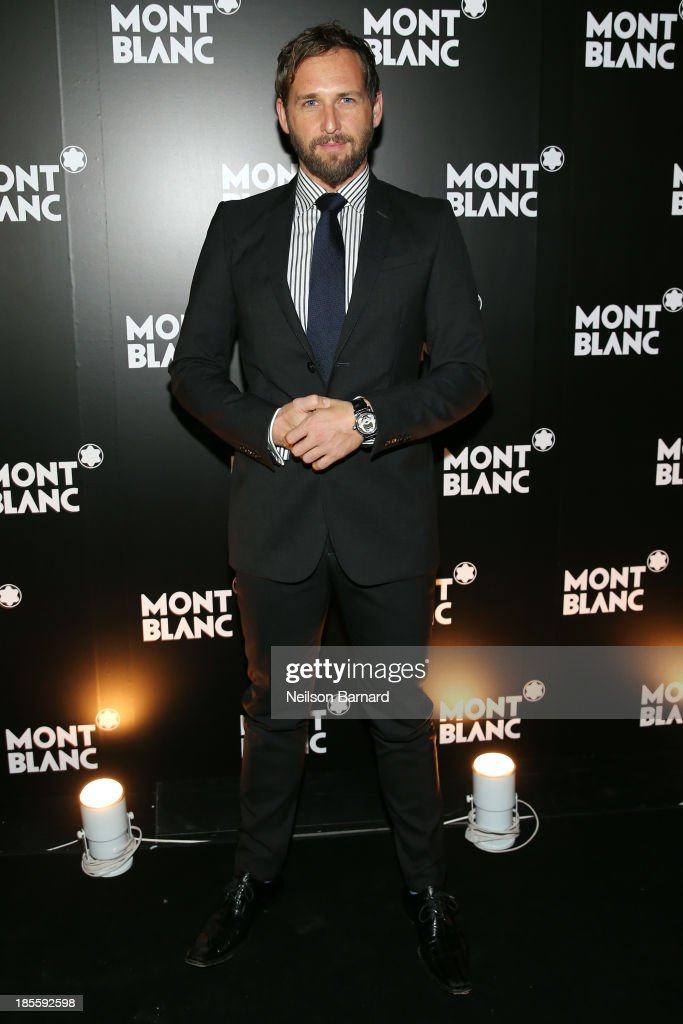Actor <a gi-track='captionPersonalityLinkClicked' href=/galleries/search?phrase=Josh+Lucas&family=editorial&specificpeople=216514 ng-click='$event.stopPropagation()'>Josh Lucas</a> attends Montblanc celebrates Madison Avenue Boutique Opening at Montblanc Boutique on Madison Avenue on October 22, 2013 in New York City.