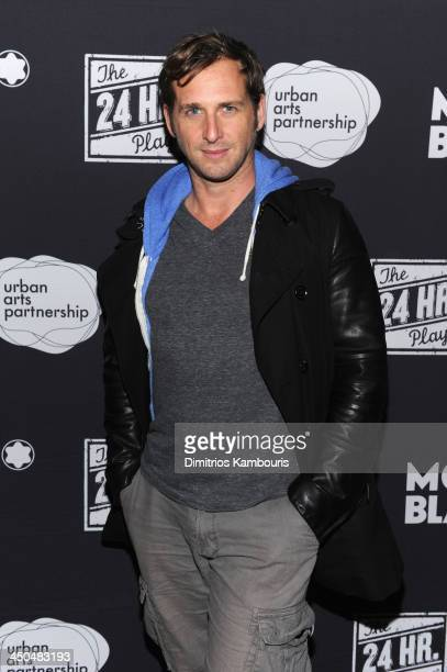 Actor Josh Lucas attends Montblanc Presents The 13th Annual 24 Hour Plays On Broadway After Party at BB King Blues Club Grill on November 18 2013 in...