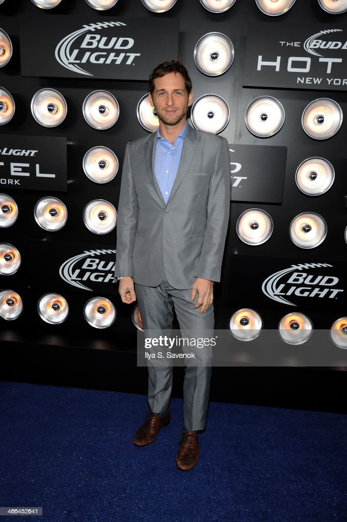 Actor <a gi-track='captionPersonalityLinkClicked' href=/galleries/search?phrase=Josh+Lucas&family=editorial&specificpeople=216514 ng-click='$event.stopPropagation()'>Josh Lucas</a> attends the Bud Light Hotel on February 1, 2014 in New York City.
