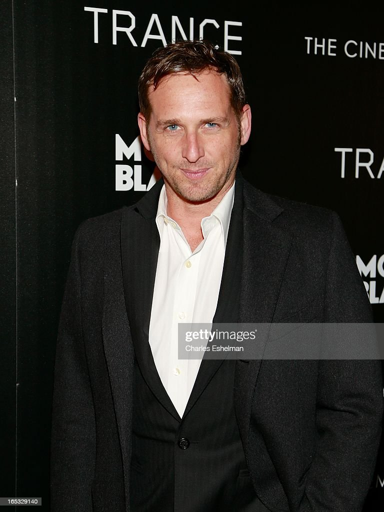 Actor <a gi-track='captionPersonalityLinkClicked' href=/galleries/search?phrase=Josh+Lucas&family=editorial&specificpeople=216514 ng-click='$event.stopPropagation()'>Josh Lucas</a> attends The Cinema Society & Montblanc Host Fox Searchlight Pictures' 'Trance' at SVA Theatre on April 2, 2013 in New York City.