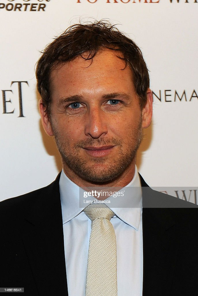 Actor <a gi-track='captionPersonalityLinkClicked' href=/galleries/search?phrase=Josh+Lucas&family=editorial&specificpeople=216514 ng-click='$event.stopPropagation()'>Josh Lucas</a> attends the Cinema Society with The Hollywood Reporter & Piaget and Disaronno special screening of 'To Rome With Love' at the Paris Theatre on June 20, 2012 in New York City.