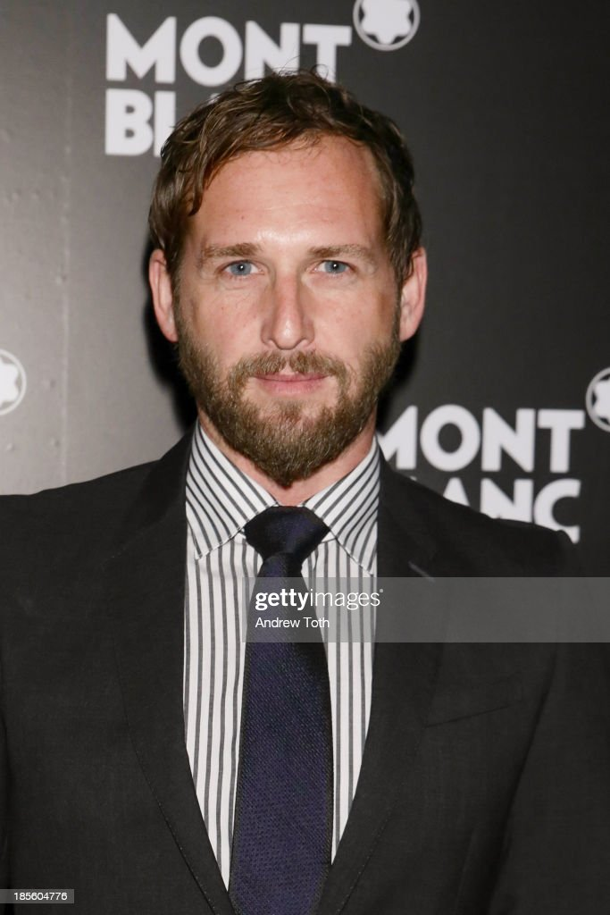 Actor <a gi-track='captionPersonalityLinkClicked' href=/galleries/search?phrase=Josh+Lucas&family=editorial&specificpeople=216514 ng-click='$event.stopPropagation()'>Josh Lucas</a> attends the Montblanc Madison Avenue store opening on October 22, 2013 in New York City.