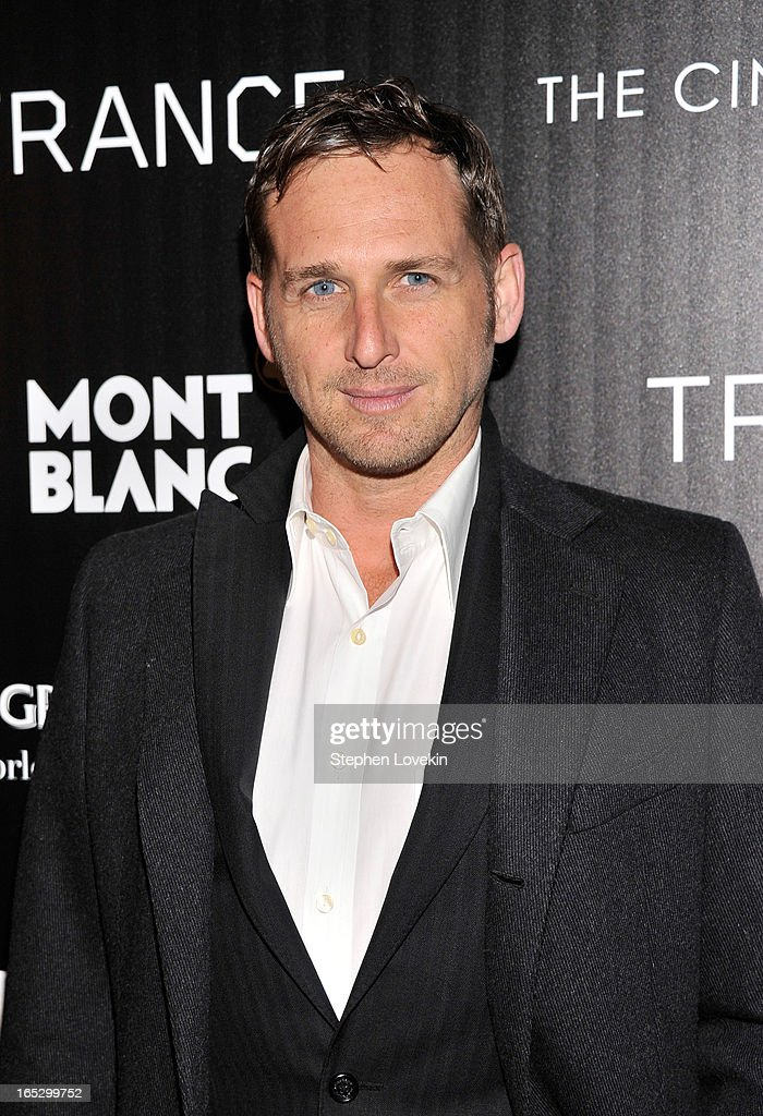 Actor <a gi-track='captionPersonalityLinkClicked' href=/galleries/search?phrase=Josh+Lucas&family=editorial&specificpeople=216514 ng-click='$event.stopPropagation()'>Josh Lucas</a> attends the premiere of Fox Searchlight Pictures' 'Trance' hosted by The Cinema Society & Montblanc at SVA Theater on April 2, 2013 in New York City.