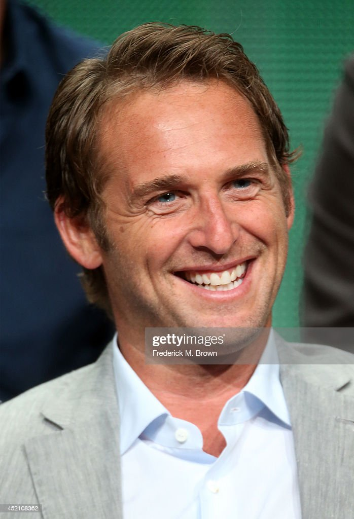 Actor Josh Lucas speaks onstage at the 'The Mysteries of Laura' panel during the NBCUniversal portion of the 2014 Summer Television Critics Association at The Beverly Hilton Hotel on July 13, 2014 in Beverly Hills, California.