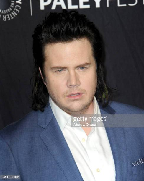 Actor Josh McDermitt at The Paley Center For Media's 34th Annual PaleyFest Los Angeles Opening Night Presentation 'The Walking Dead' held at Dolby...