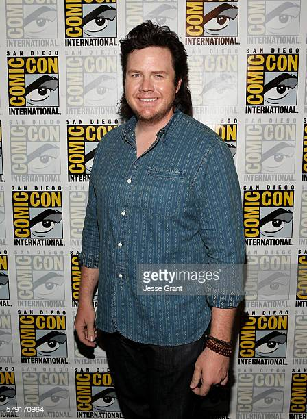 Actor Josh McDermitt at the press line during ComicCon International 2016 at San Diego Convention Center on July 22 2016 in San Diego California