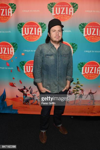 Actor Josh McDermitt attends Atlanta Premiere of Cirque du Soleil's 'LUZIA A Waking Dream of Mexico' at Big Top at Atlantic Station on September 14...