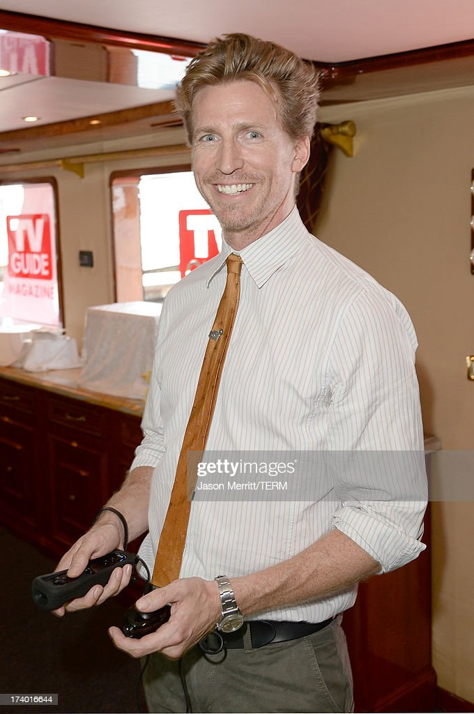 Actor <a gi-track='captionPersonalityLinkClicked' href=/galleries/search?phrase=Josh+Meyers+-+Actor&family=editorial&specificpeople=12906216 ng-click='$event.stopPropagation()'>Josh Meyers</a> attends the Nintendo Oasis on the TV Guide Magazine Yacht at Comic-Con day 1 on July 18, 2013 in San Diego, California.