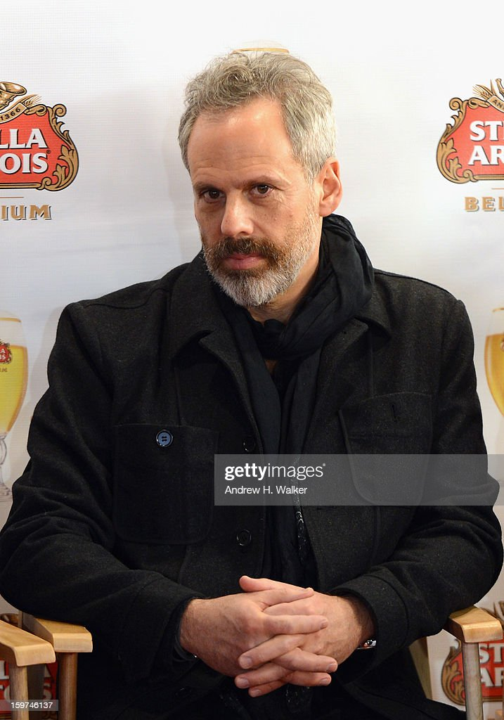 Actor <a gi-track='captionPersonalityLinkClicked' href=/galleries/search?phrase=Josh+Pais&family=editorial&specificpeople=753345 ng-click='$event.stopPropagation()'>Josh Pais</a> attends the Stella Artois press junket for Sundance Film 'Touchy Feely' at Village at the Lift on January 19, 2013 in Park City, Utah.