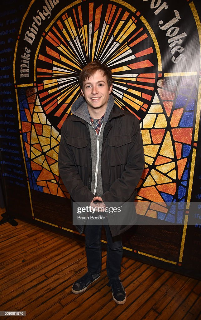 Actor Josh Rabinowitz attends 'Mike Birbiglia: Thank God For Jokes' Opening Night at the Lynn Redgrave Theatre on February 11, 2016 in New York City.
