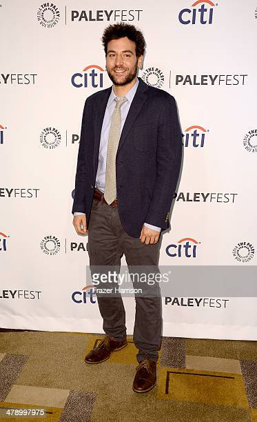 Actor Josh Radnor arrives at The Paley Center For Media's PaleyFest 2014 Honoring 'How I Met Your Mother' Series Farewell at Dolby Theatre on March...