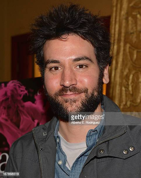 Actor Josh Radnor attends a screening of IFC Films' 'Frances Ha' at the Vista Theatre on May 1 2013 in Los Angeles California