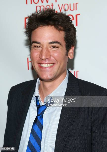 Actor Josh Radnor attends an academy screening of 'How I Met Your Mother' at McGee's Bar and Grill on June 03 2008 in New York City