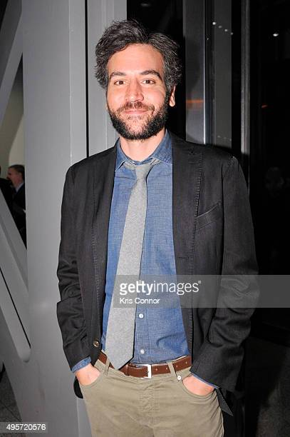Actor Josh Radnor attends the DC premiere of PBS's 'Mercy Street' at the The Newseum in Washington DC on November 4 2015