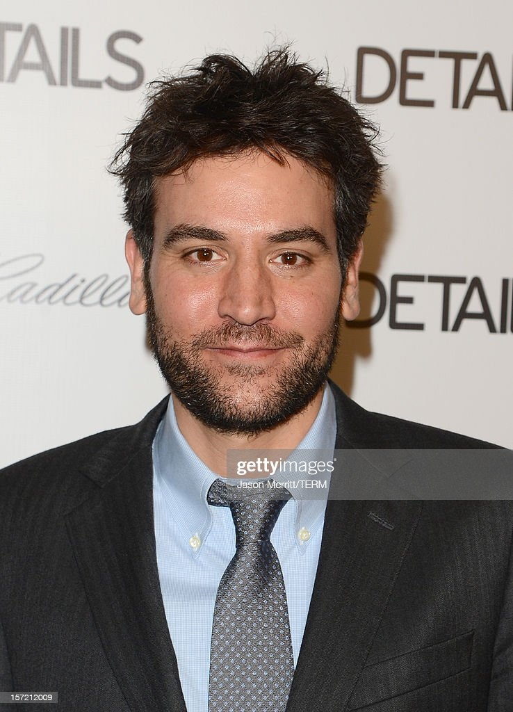 Actor <a gi-track='captionPersonalityLinkClicked' href=/galleries/search?phrase=Josh+Radnor&family=editorial&specificpeople=599413 ng-click='$event.stopPropagation()'>Josh Radnor</a> attends the DETAILS Hollywood Mavericks Party held at Soho House on November 29, 2012 in West Hollywood, California.