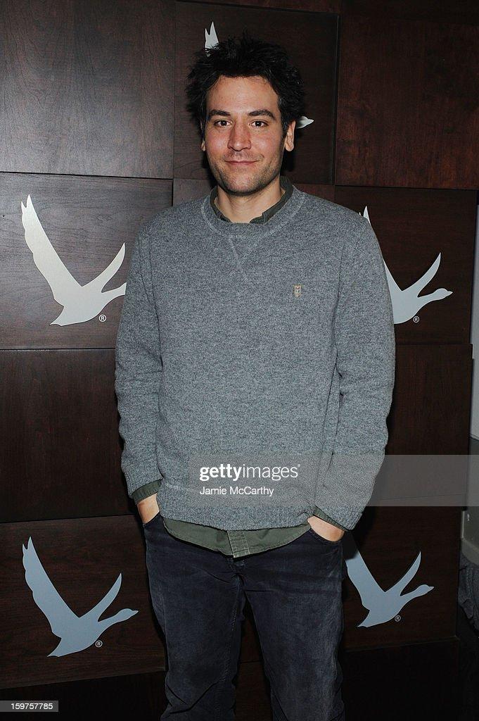 Actor Josh Radnor attends the Grey Goose Blue Door 'Fruitvale' Dinner on January 19, 2013 in Park City, Utah.
