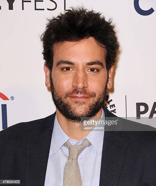 Actor Josh Radnor attends the 'How I Met Your Mother' series farewell event at the 2014 PaleyFest at Dolby Theatre on March 15 2014 in Hollywood...