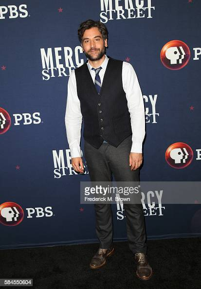 Actor Josh Radnor attends the 'Mercy Street Season 2' panel discussion at the PBS portion of the 2016 Television Critics Association Summer Tour at...