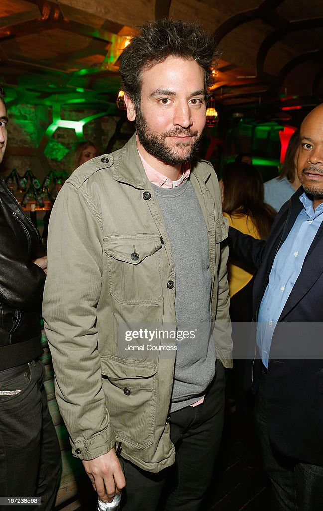 Actor <a gi-track='captionPersonalityLinkClicked' href=/galleries/search?phrase=Josh+Radnor&family=editorial&specificpeople=599413 ng-click='$event.stopPropagation()'>Josh Radnor</a> attends the Tribeca Film Festival 2013 After Party 'Before Midnight' sponsored by Heineken on April 22, 2013 in New York City.