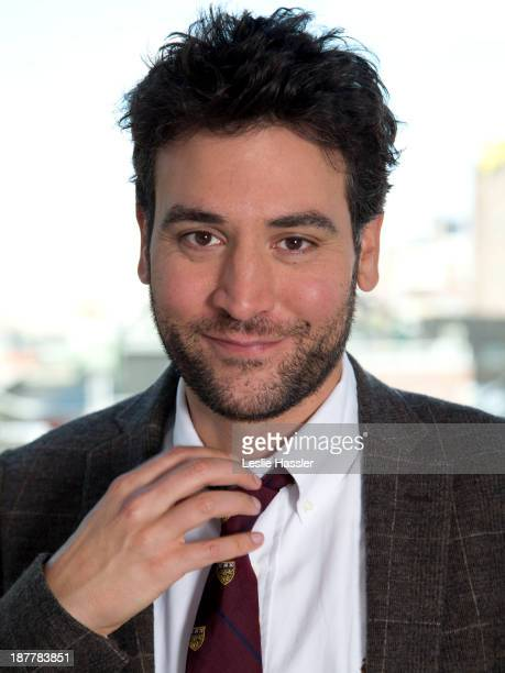 Actor Josh Radnor is photographed for Self Assignment on September 10 2012 in New York City