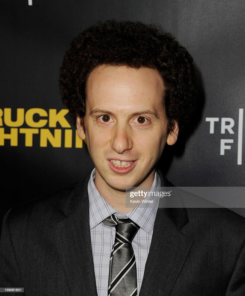 Actor Josh Sussman arrives at a screening of Tribeca Film's 'Struck By Lightning' at the Chinese Cinema 6 Theaters on January 6, 2013 in Los Angeles, California.
