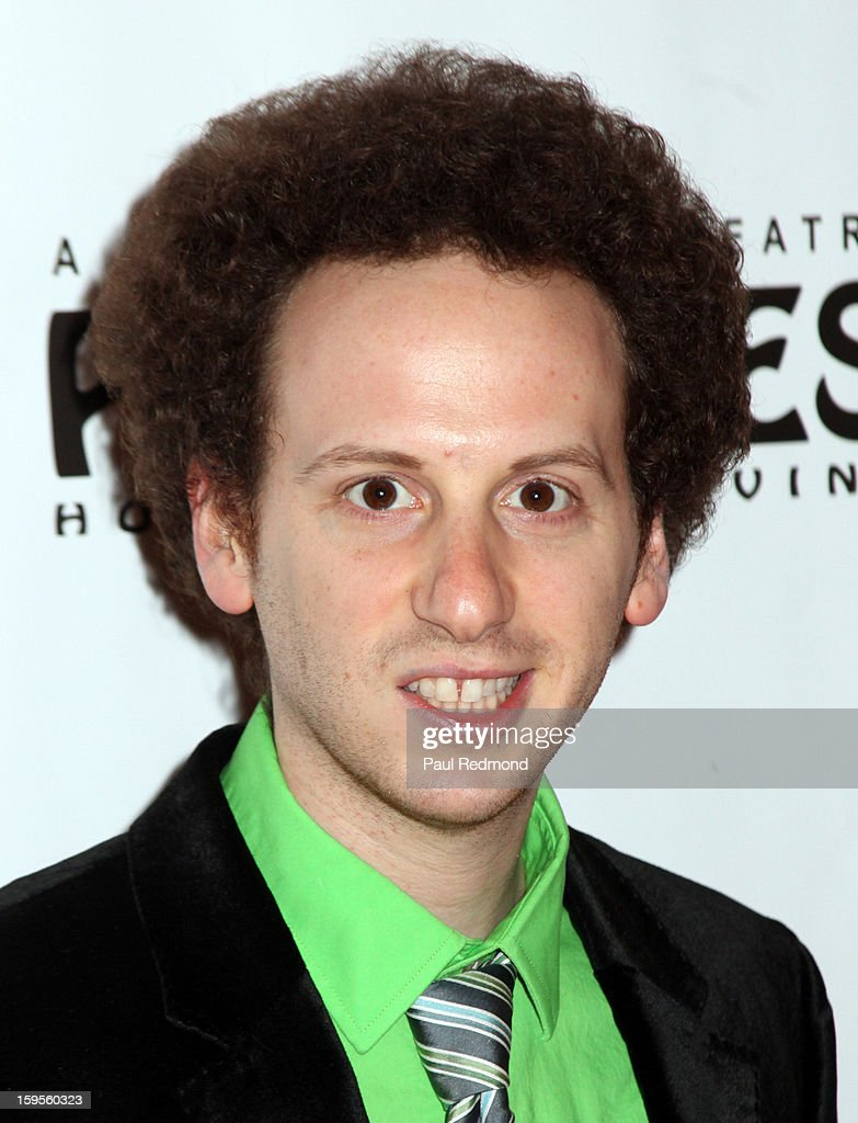 Actor <a gi-track='captionPersonalityLinkClicked' href=/galleries/search?phrase=Josh+Sussman&family=editorial&specificpeople=5756661 ng-click='$event.stopPropagation()'>Josh Sussman</a> arrives at 'Peter Pan' Los Angeles play opening night at the Pantages Theatre on January 15, 2013 in Hollywood, California.