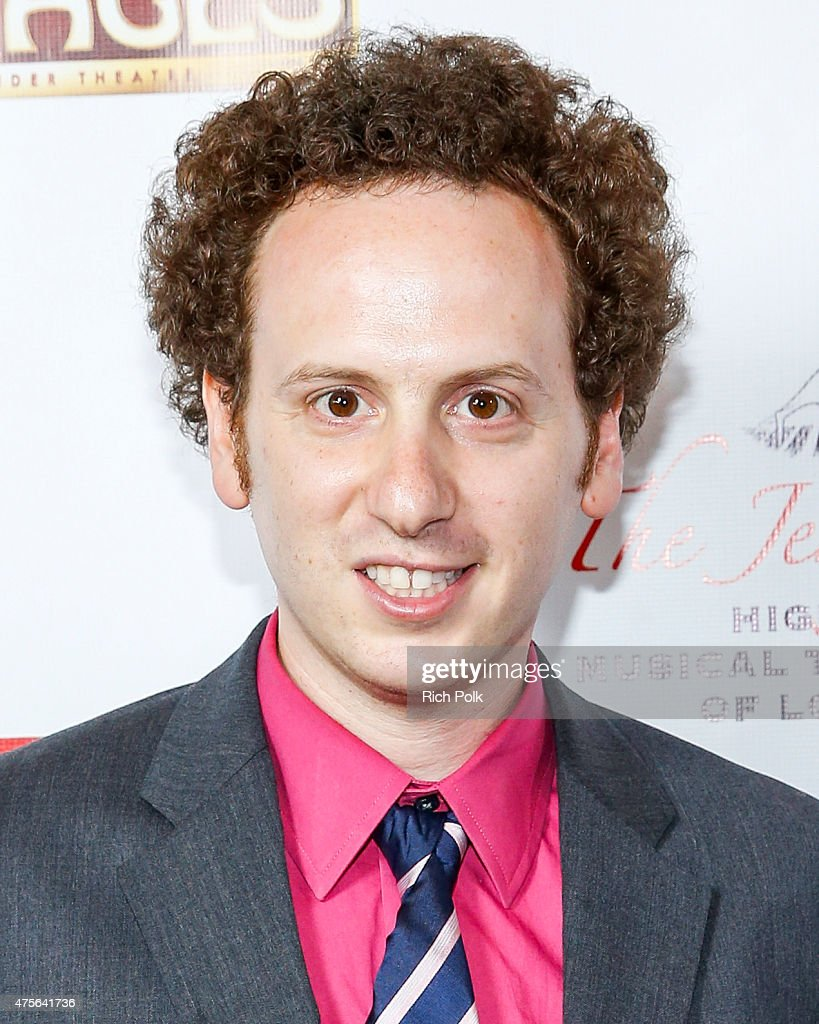 Actor Josh Sussman arrives at the 4th Annual Jerry Herman Awards at the Pantages Theatre on June 1 2015 in Hollywood California