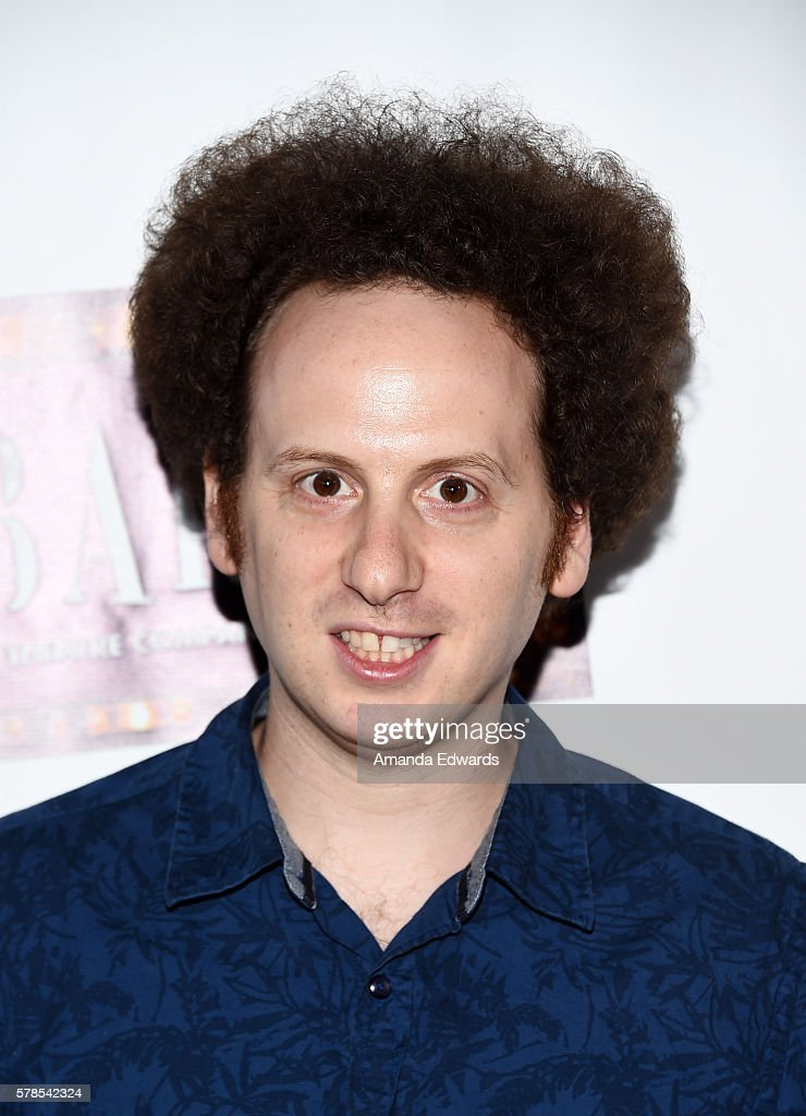 Actor Josh Sussman arrives at the opening of 'Cabaret' at the Hollywood Pantages Theatre on July 20 2016 in Hollywood California